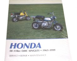 Clymer Repair Manual - 50-110cc OHC Singles 65-99