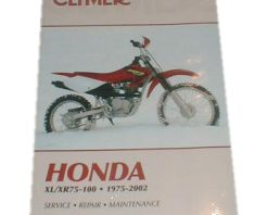 Clymer Repair Manual XL75 & XL100