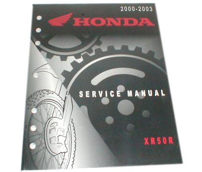 CRF50 Shop Manual
