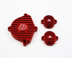TB Billet Camshaft and Tappet Cover Set, Red