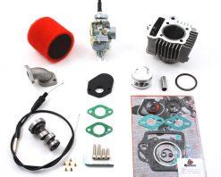 TB Stock Head, 88cc Bore Kit, 20mm Carb Kit & Cam - 92-09 Models