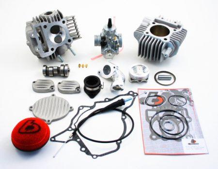 TB 143cc Bore Kit, Race Head, and VM26mm Carb Kit - 02-09 Models