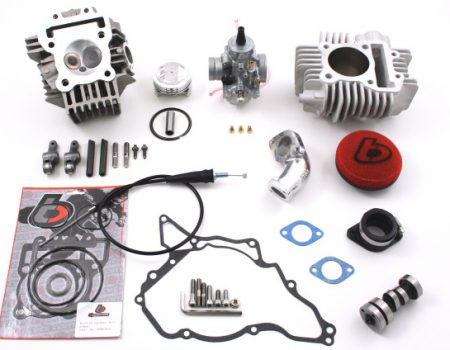 TB 143cc Bore Kit, Race Head V2, and VM26mm Carb Kit - 02-09 Models
