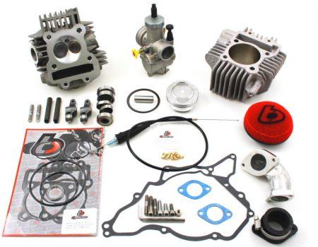 TB 165cc Bore Kit, Race Head V2, and 28mm Carb Kit - 02-09 Models