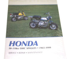 Clymer Repair Manual - 88-99 Z50s (XR50 Engine)