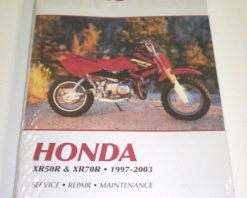 Clymer Repair Manual XR50 & XR70