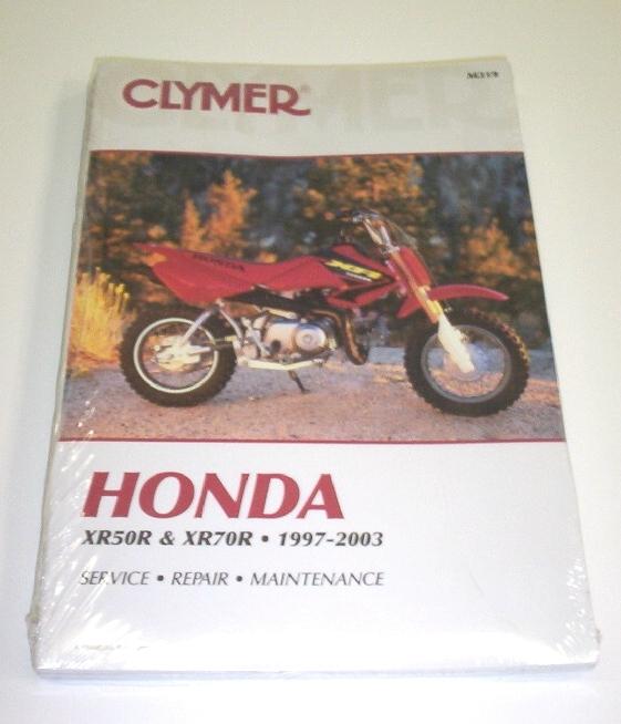 clymer repair manual xr50  u0026 xr70