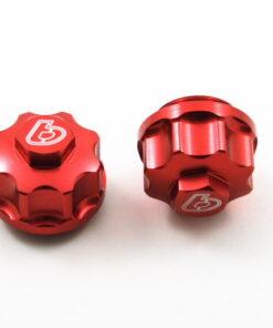 TB Billet Tappet Cover Set, Red - All Models