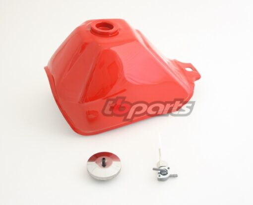 Gas Tank, Red - AFT - 89-99 Models