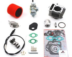 TB Stock Head, 88cc Bore Kit, 20mm Carb Kit & Cam - 91-94 Models