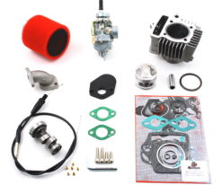 TB Stock Head, 88cc Bore Kit, 20mm Carb Kit & Cam - 91-94 Models
