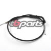 TB Throttle Cable for 20mm Carb, 90 Degree Bend - Stock or Short Bars