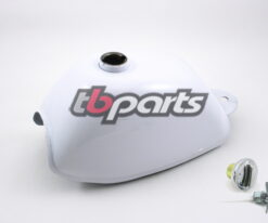 AFT Gas Tank, White - Z50 K3-78 Models