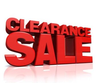 *** Clearance and Scratch & Dent ***
